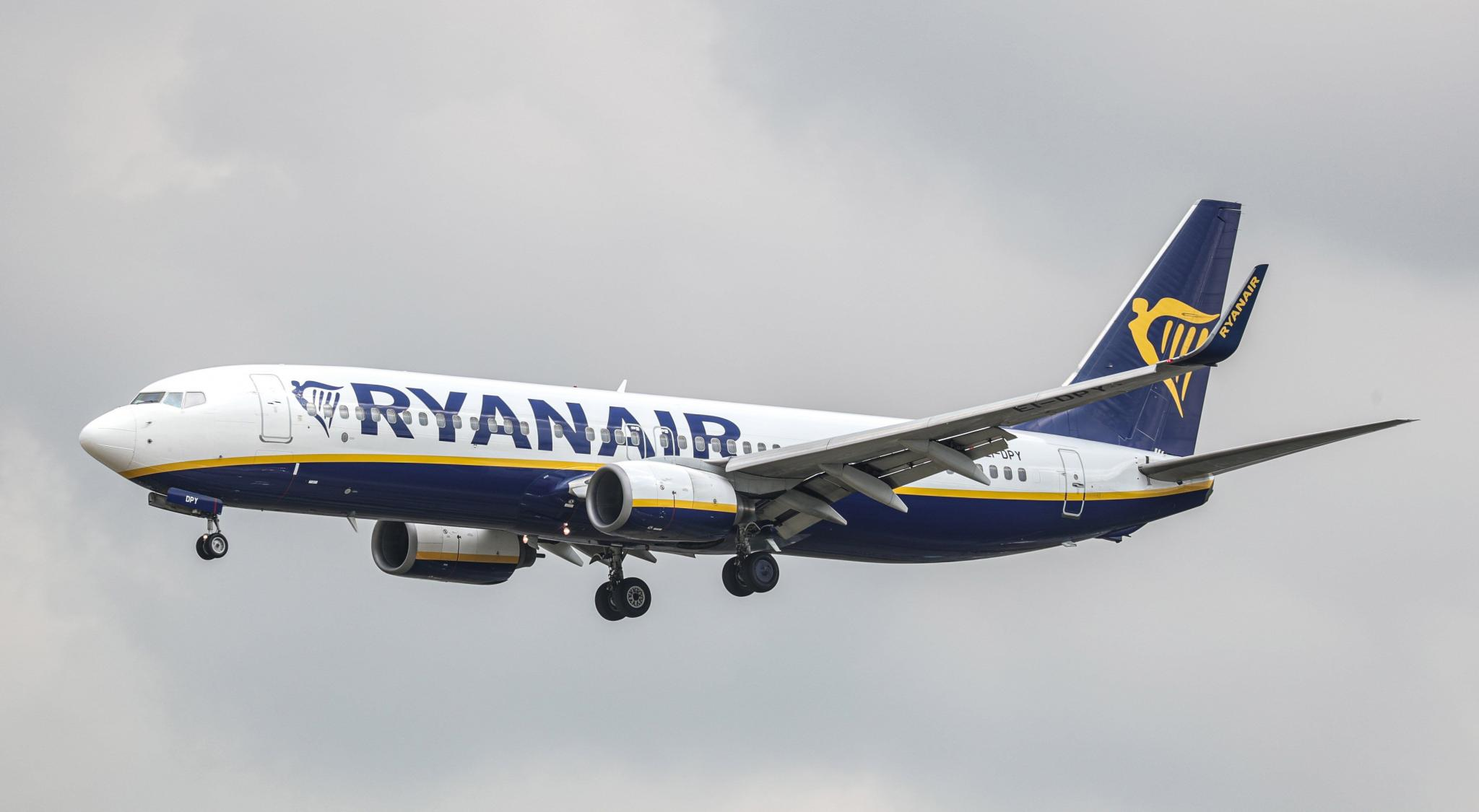 Strike backed by Ryanair pilots based in Ireland