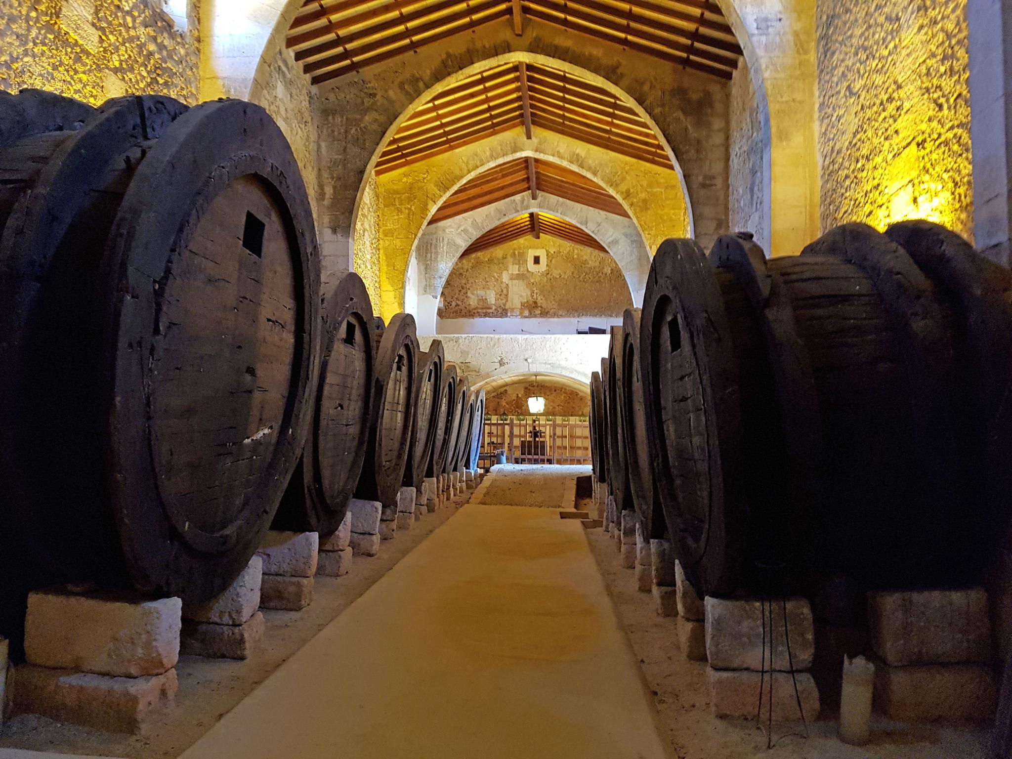 A winery in Mallorca
