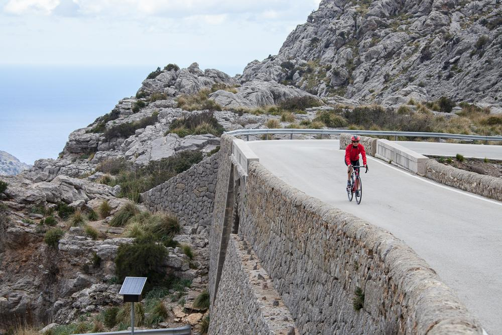 Climbing the Tramuntana mountains