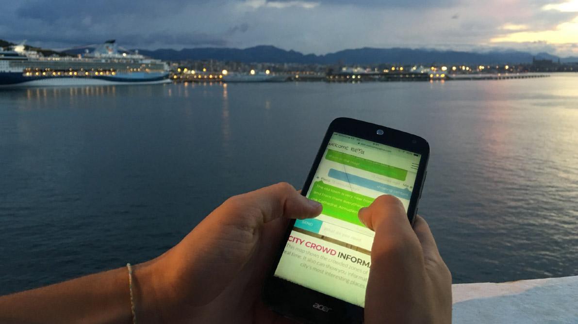PALMA - Welcome Palma, la nueva app para los cruceristas.