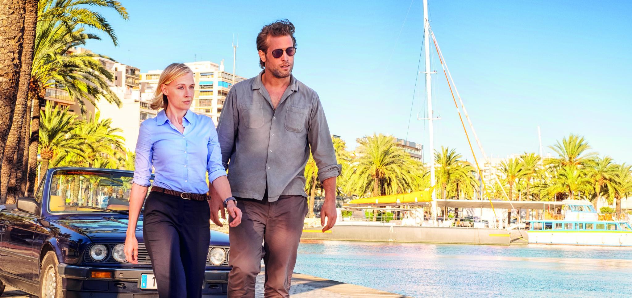 PALMA. TELEVISION. The Mallorca Files¿ se promociona.