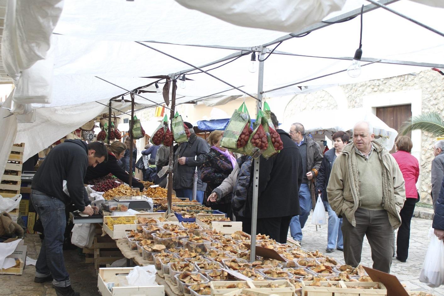 Mancor de Vall, Mushroom Fair