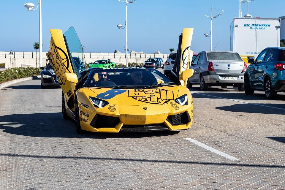 Lamborghini Aventador, one of many Lambos taking part in the 2019 Modball