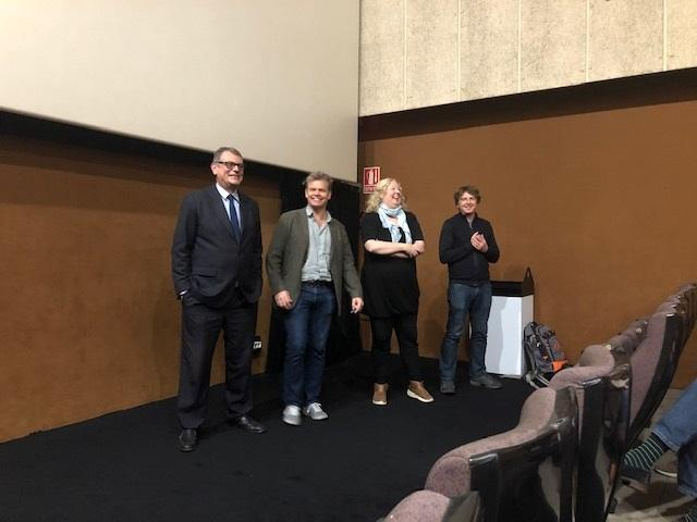 Executive Producer Ben Donald and two of the writers at the Q&A