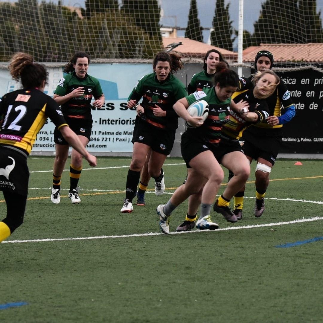 Shamrock RC girls v Andorra