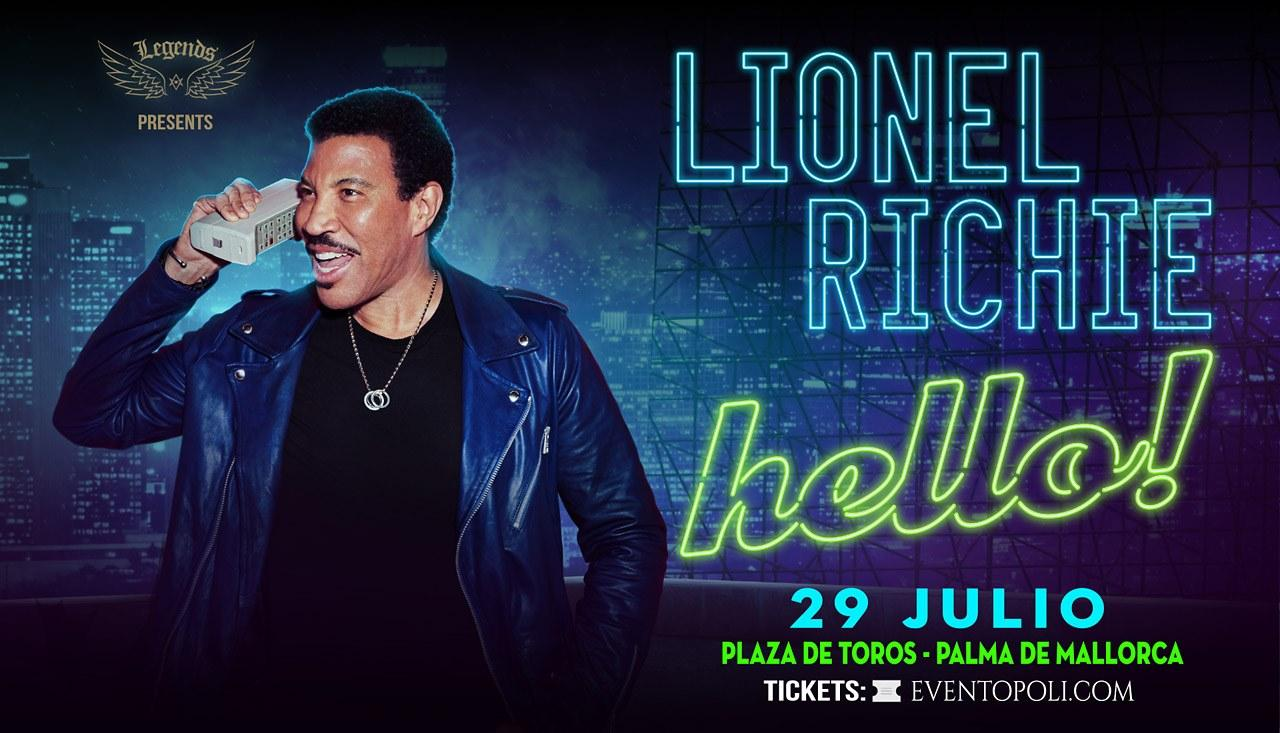 Lionel Richie will perform at the Bullring in Palma