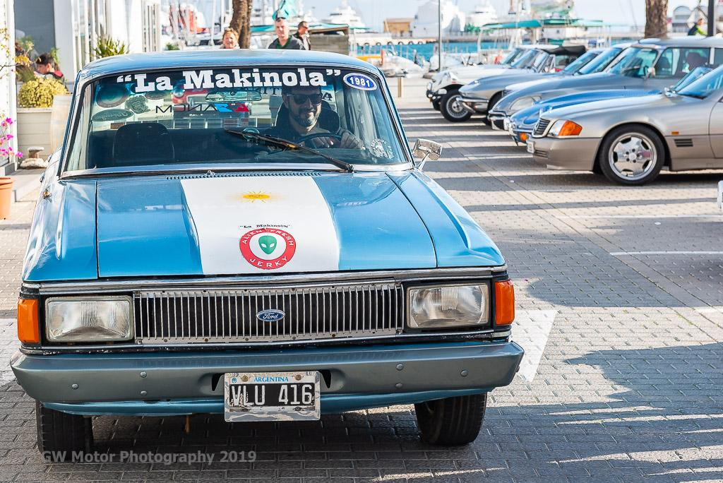 Round the World 1981 Ford Falcon, just in from Argentina
