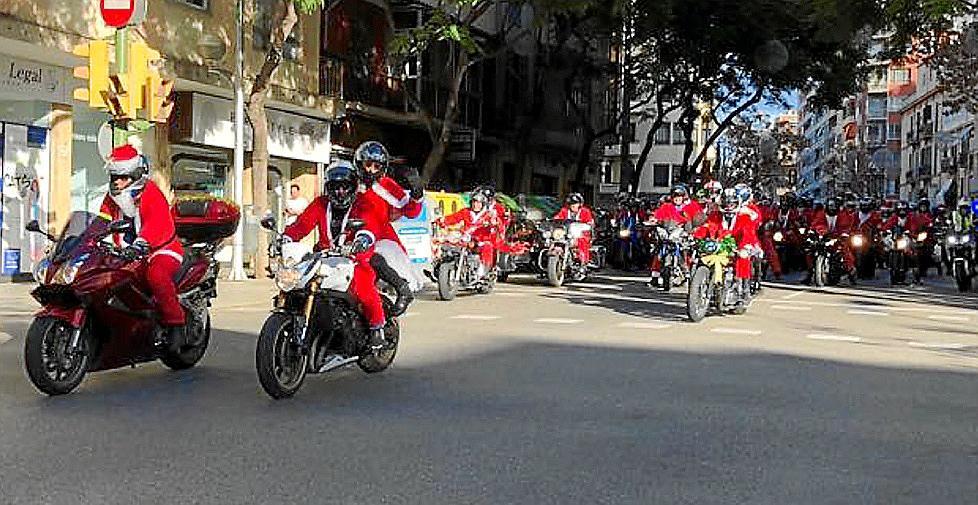 The Bribones Bikers Christmas Route of 2017