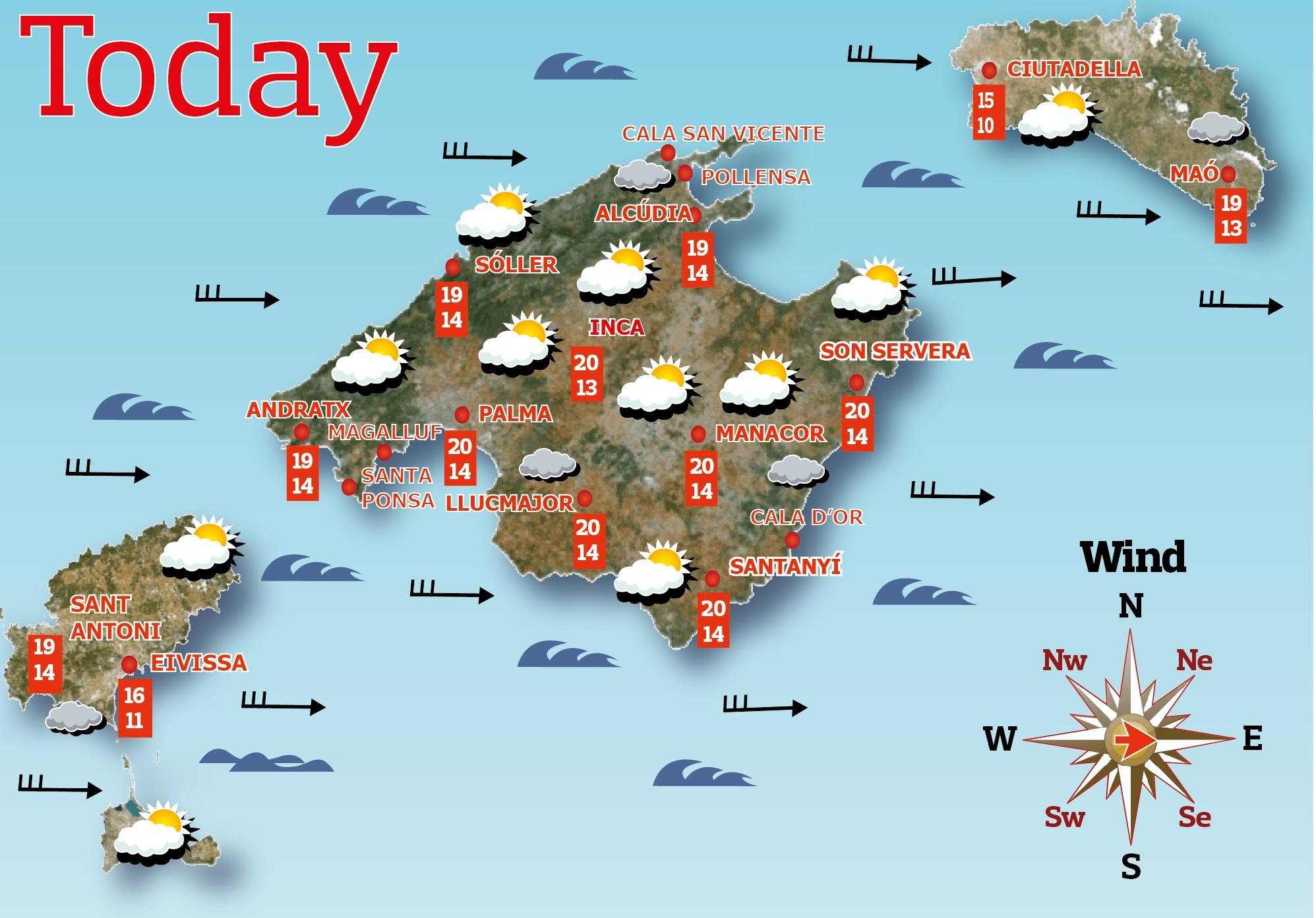 Weather In Mallorca Today Live Weather Cams