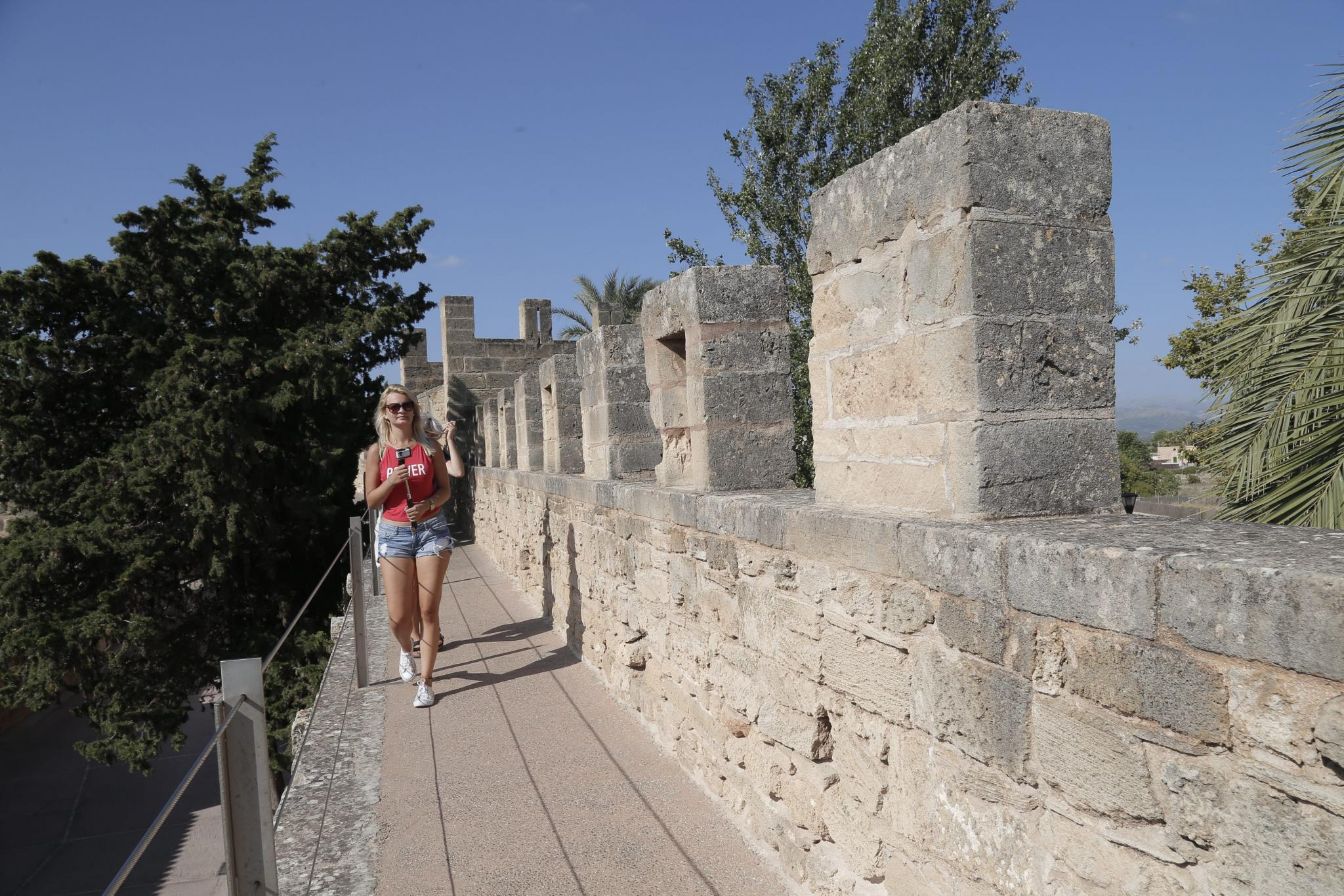 The old town walls, Alcudia