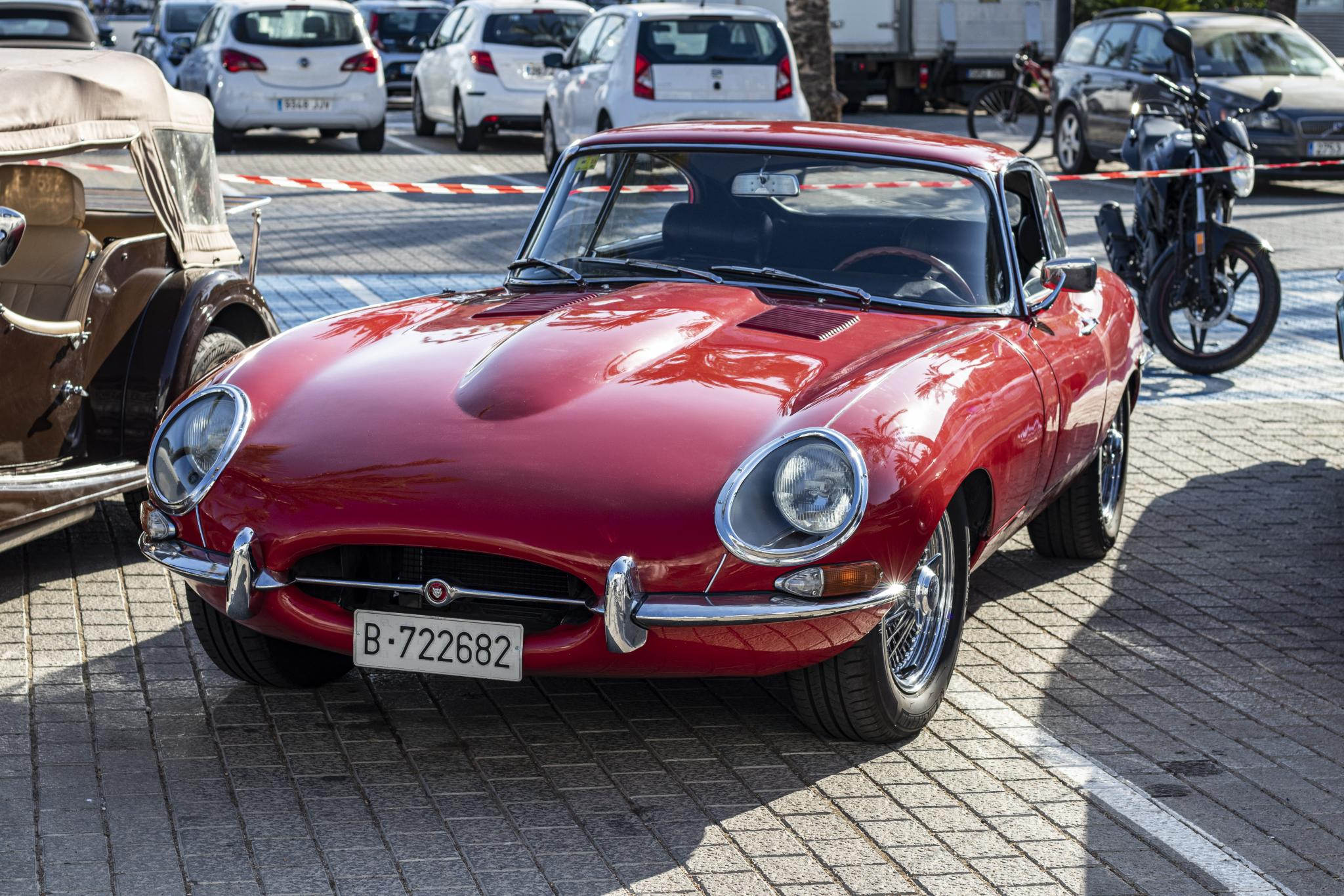 Santa is quite partial to E-Types, I've seen him in one on lots of Xmas cards