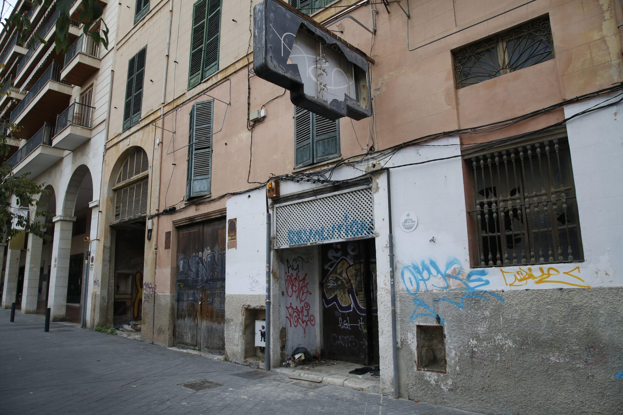 The old Asai nightclub in Palma has been empty for a long time