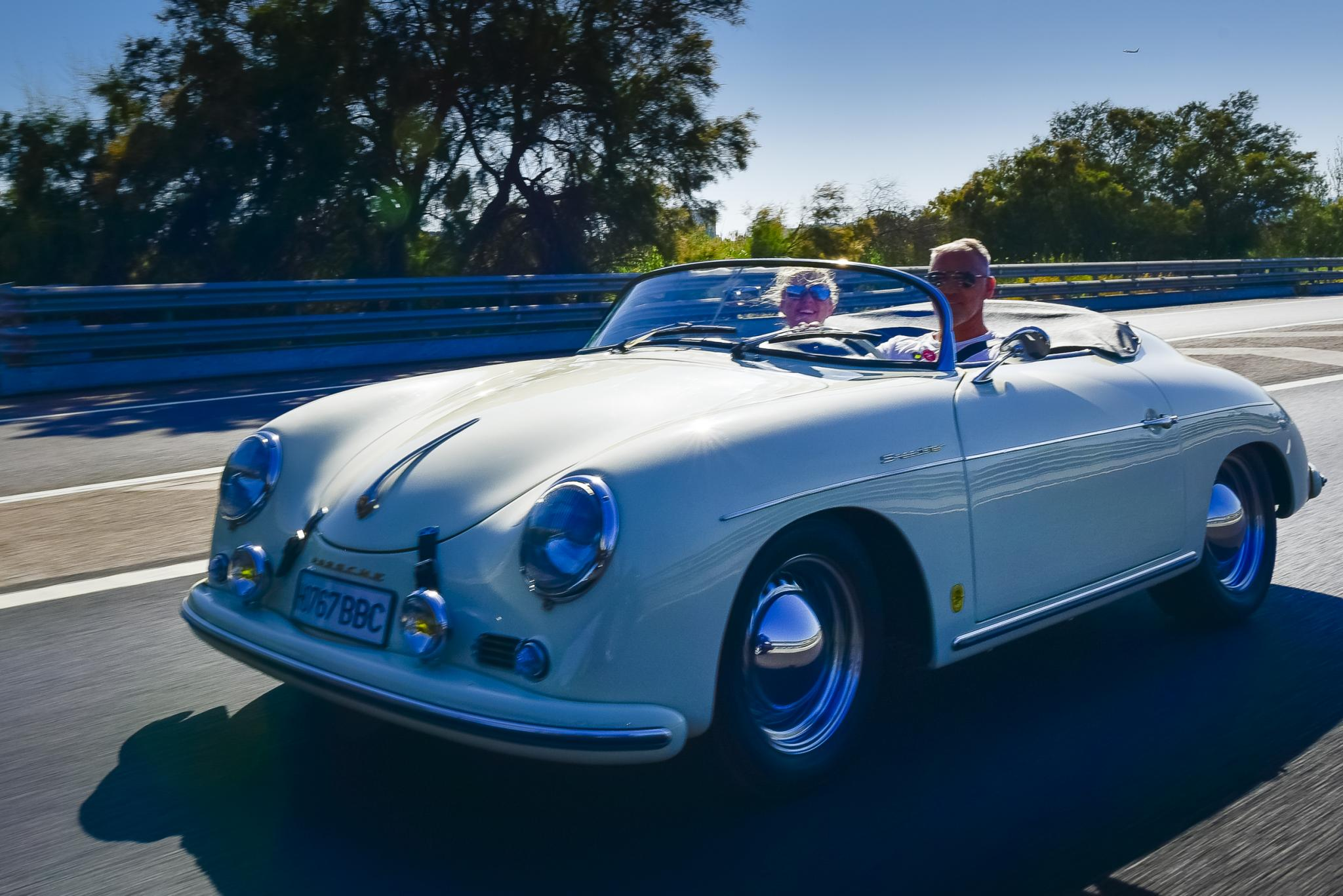 Majorca is such a great drive, especially in your Porsche 365