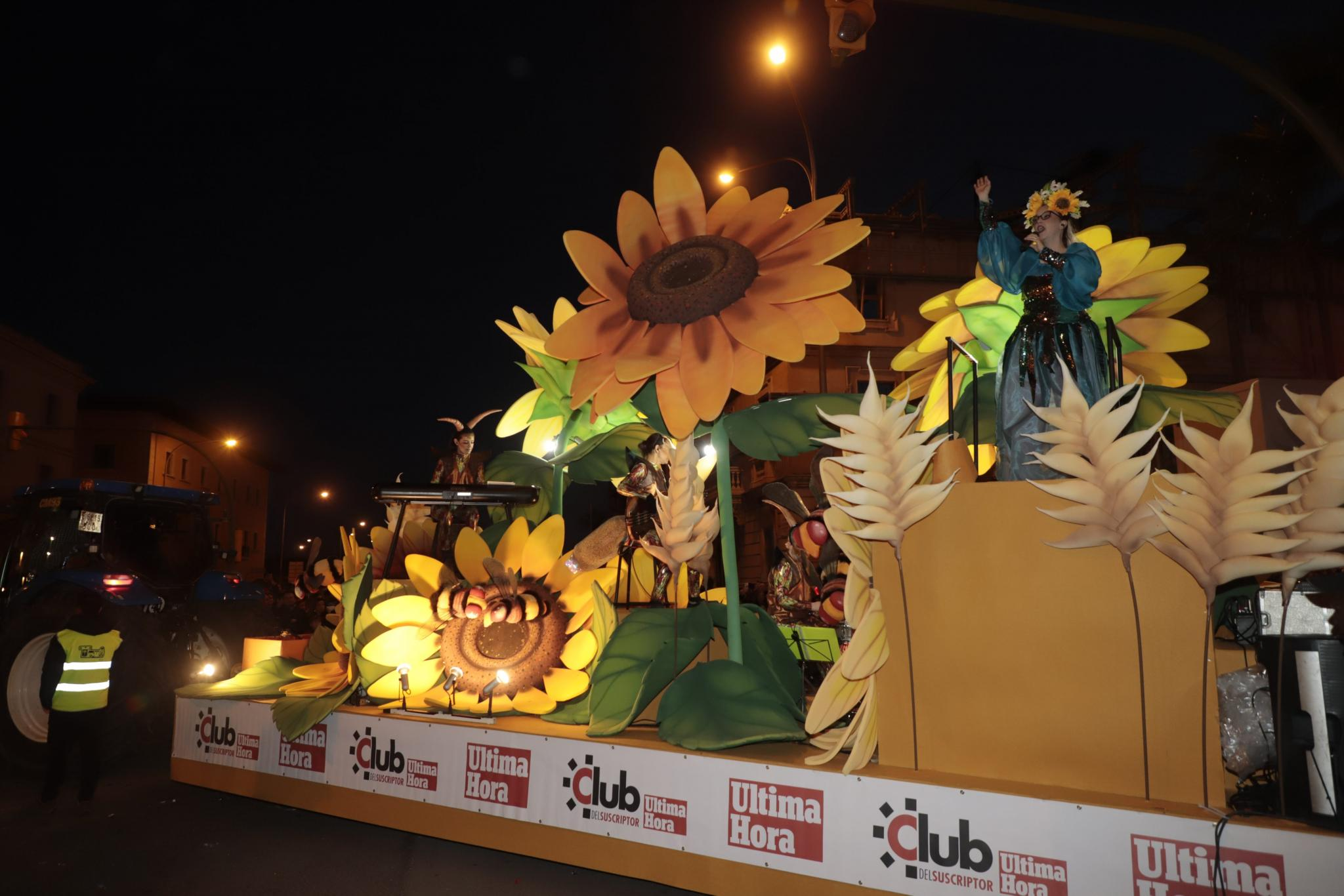 Three Kings Parade in Palma