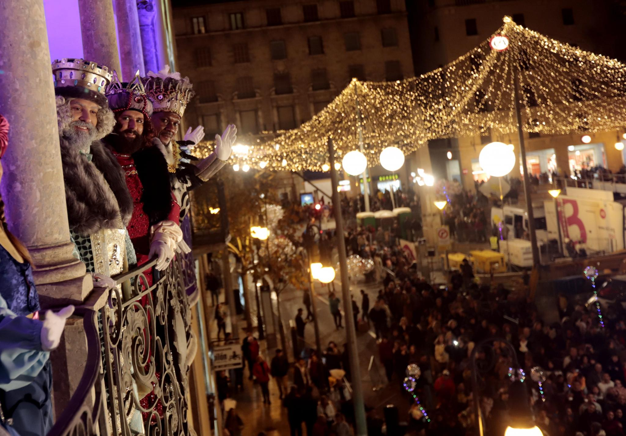 Three Kings Parade in Palma