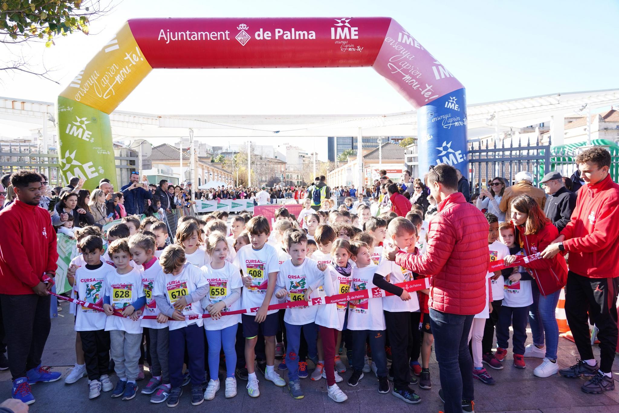 Three Kings childrens' race in Palma