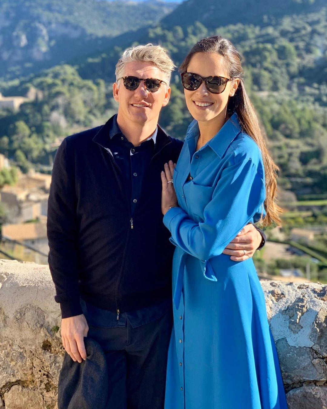 Ana Ivanovic, and her husband, former German soccer player Bastian Schweinsteiger