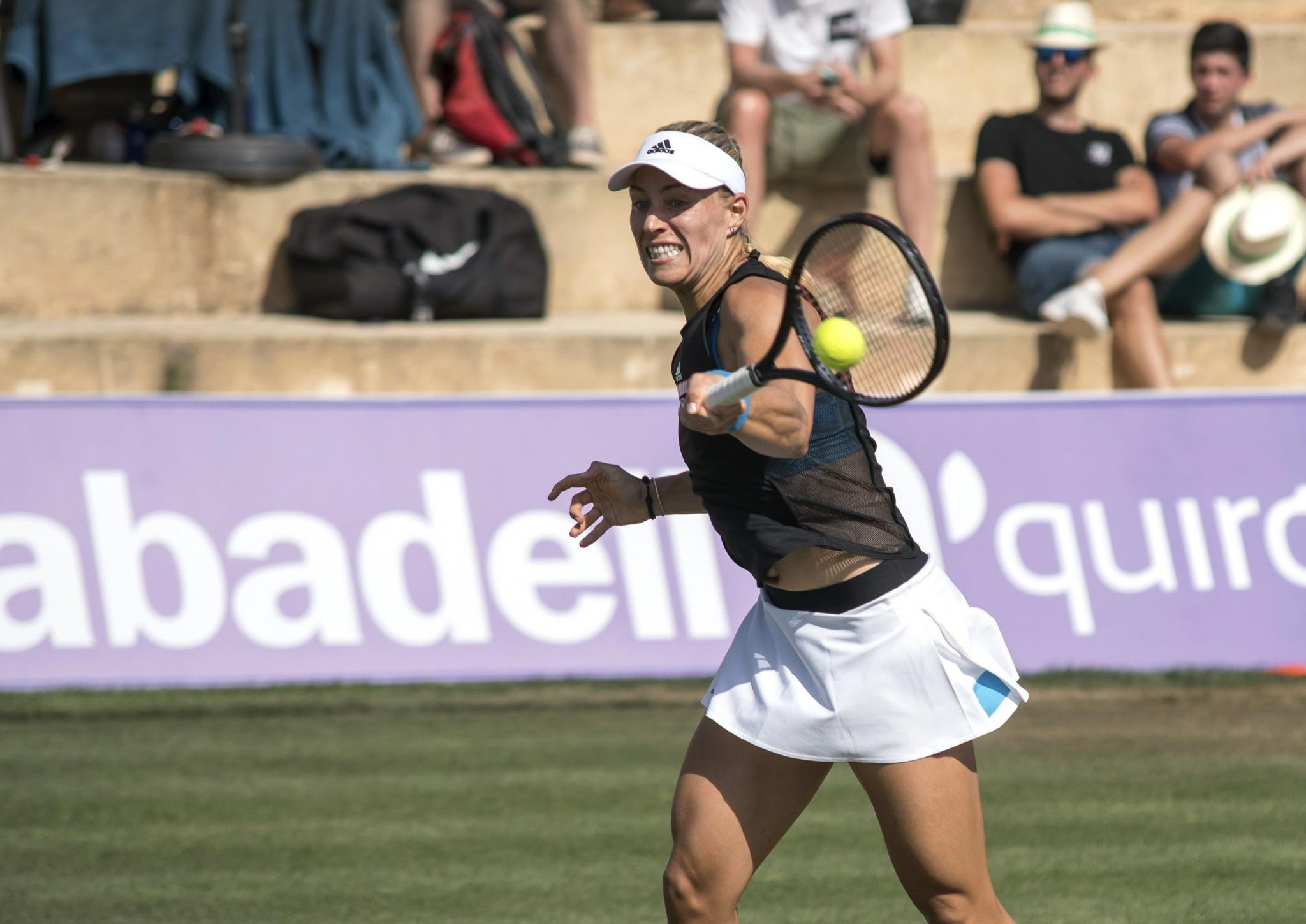 María Sharápova at the WTA Mallorca Open in Santa Ponsa
