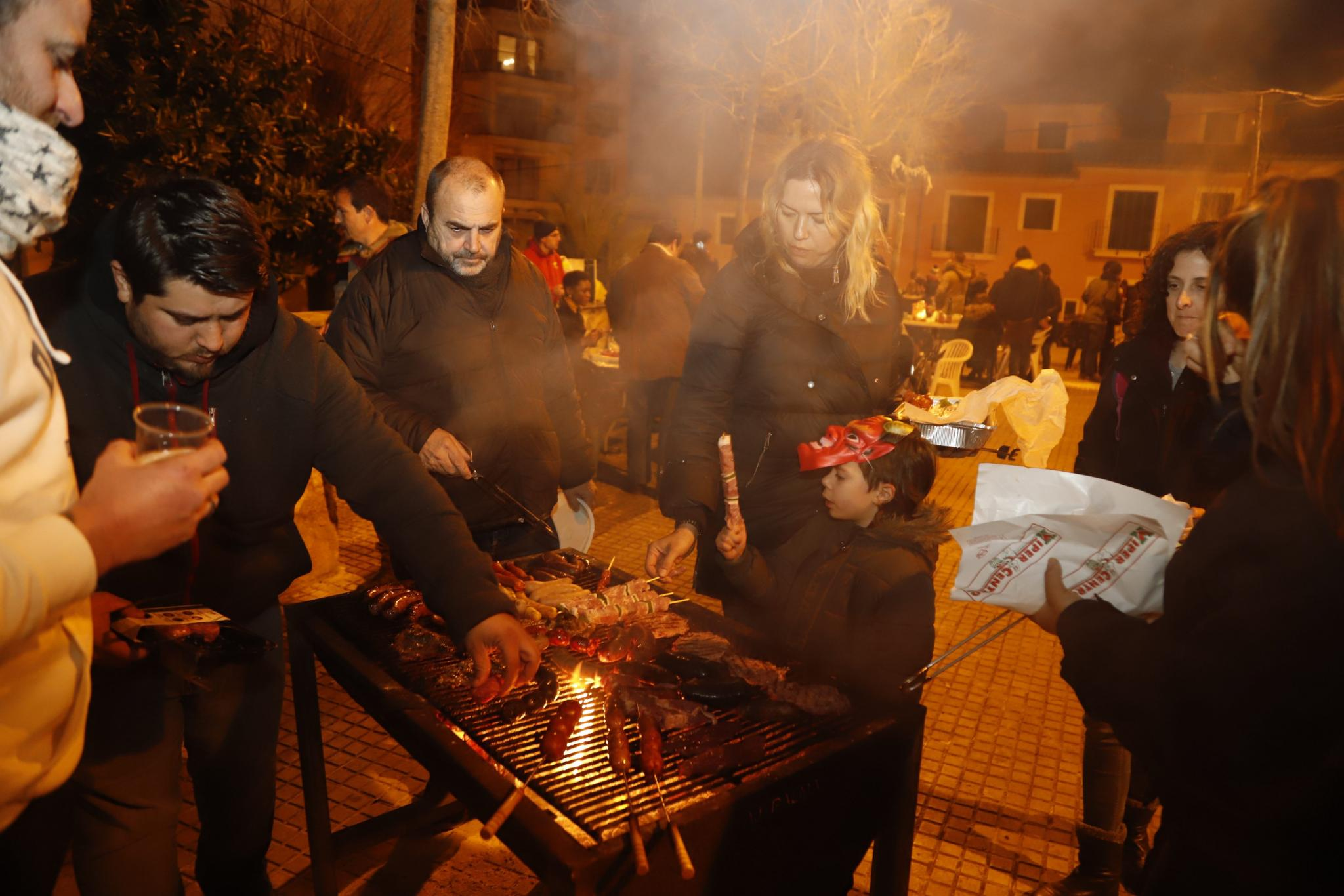 There will be many barbecue sites for Sant Antoni