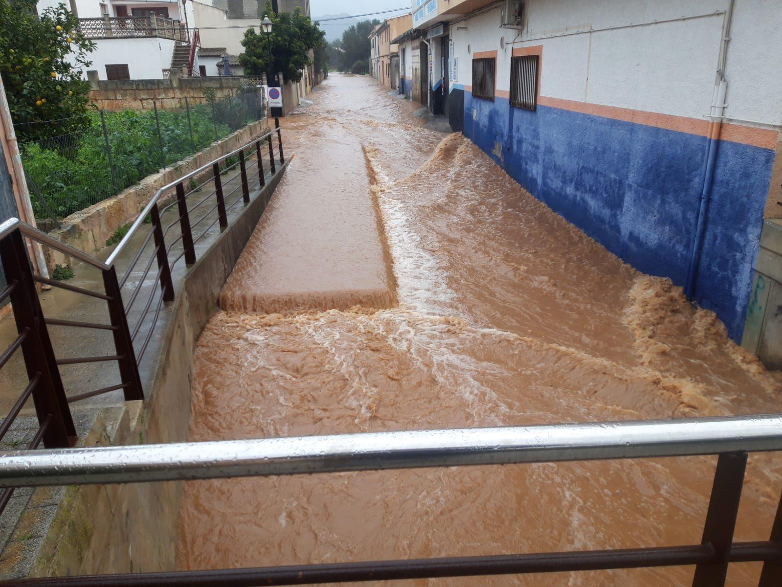 The torrente at Sant Llorenç