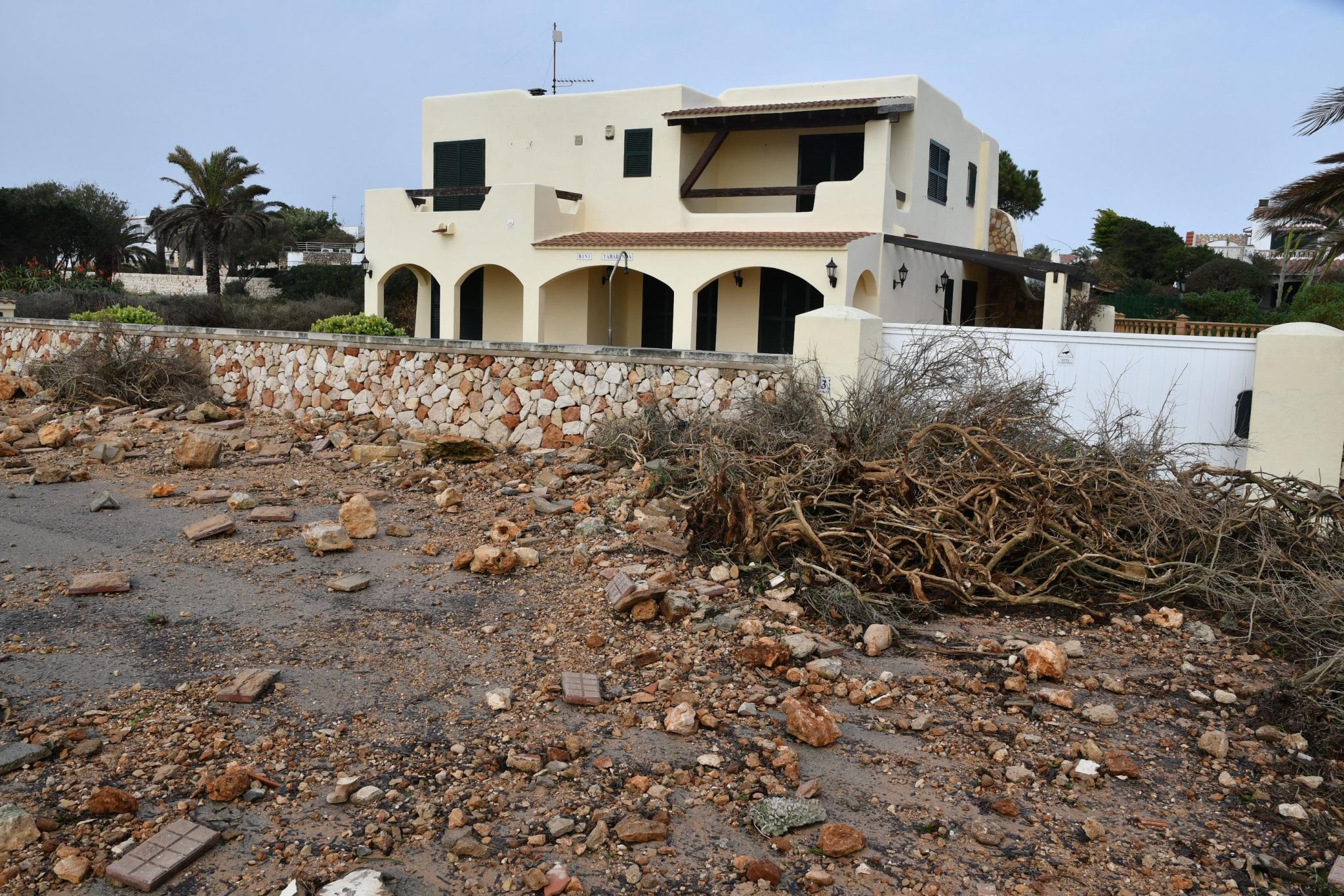Menorca Ciutadella Sergi Garcia desperfectes pe es temporal Gloria Ca