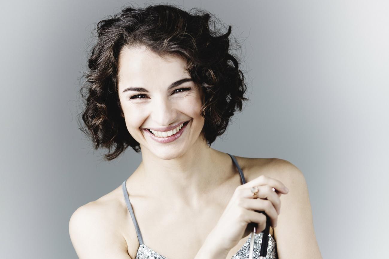 PALMA. MUSICA. La violinista Alina Pogostkina.