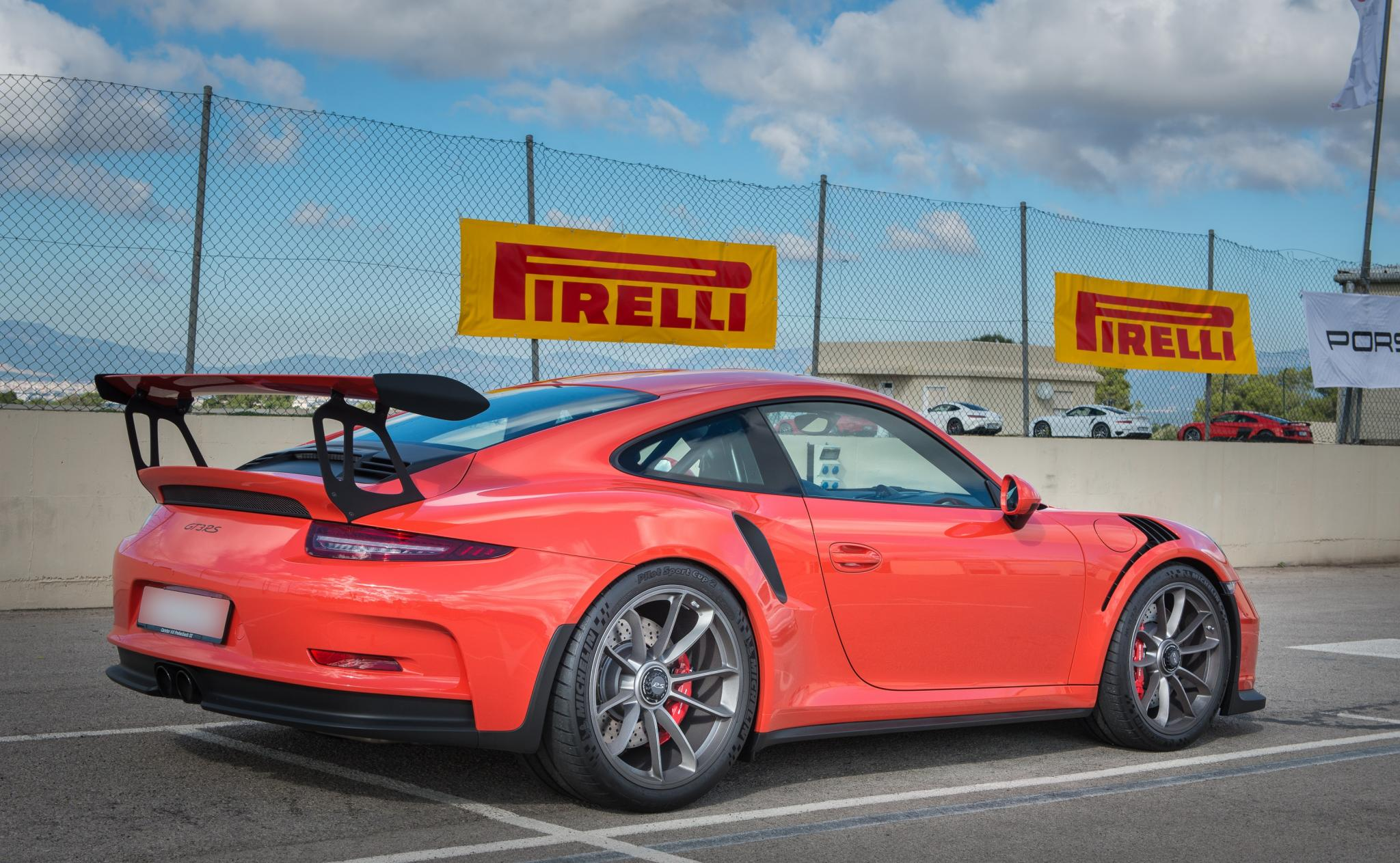 It's a GT3RS but still a 911 in essence