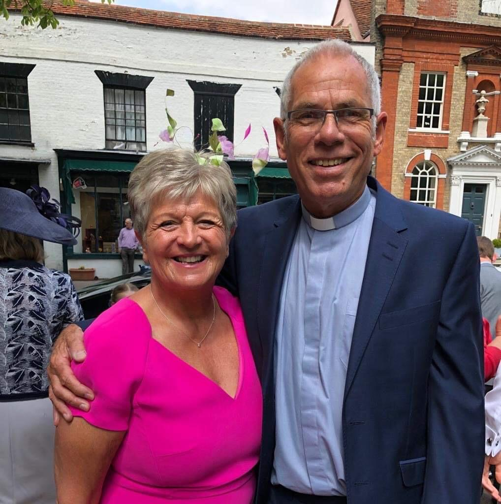 Rev Paul and his wife, Lesley