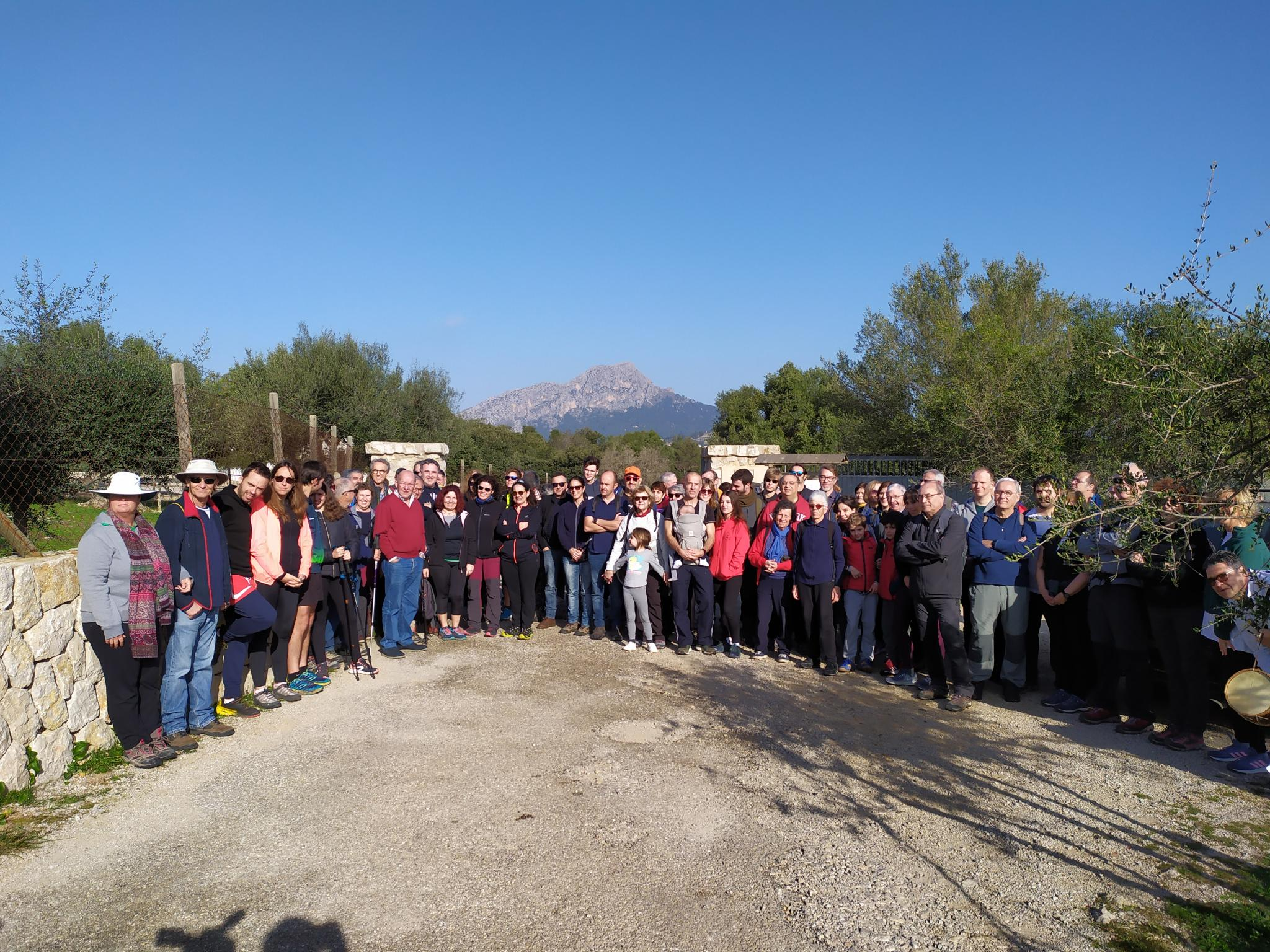 Tributes were paid to Spanish Civil War victims in Puigpunyent