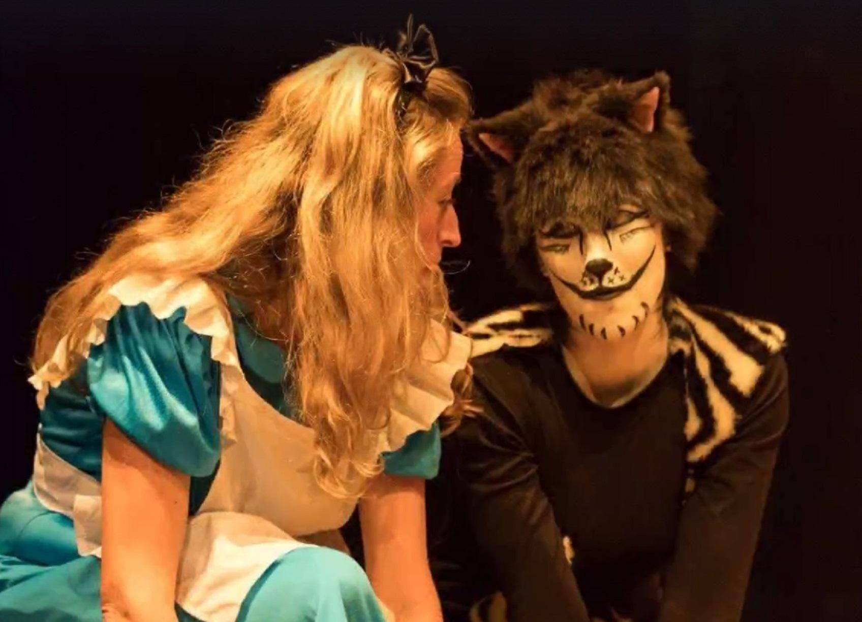 PALMA. TEATRO. obra en inglés Alice¿s Adventures in Wonderland, de Morgana Teatre.