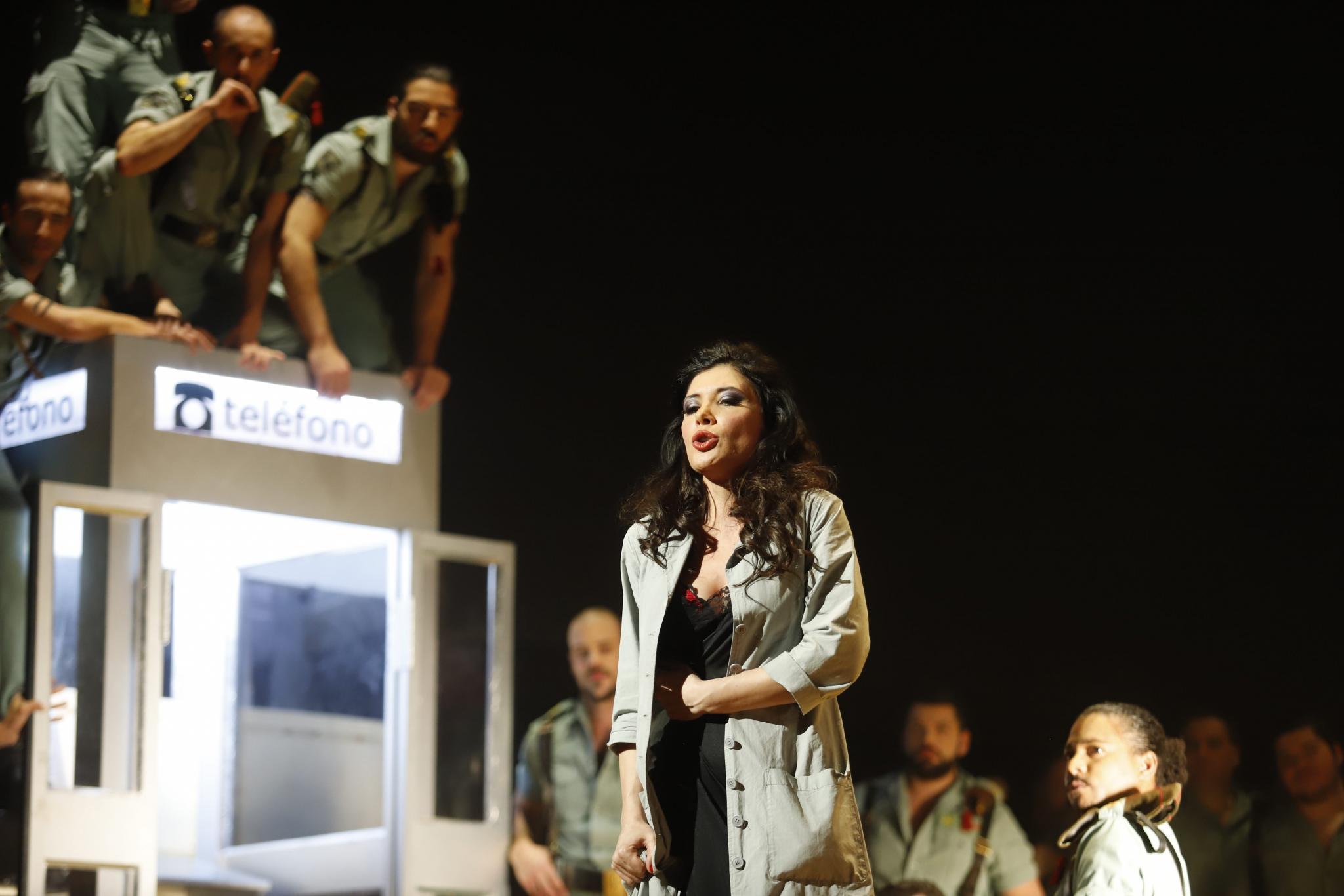 PALMA. OPERA. ` Carmen ¿ triunfa en su estreno con un Teatre Principal lleno hasta la bandera.