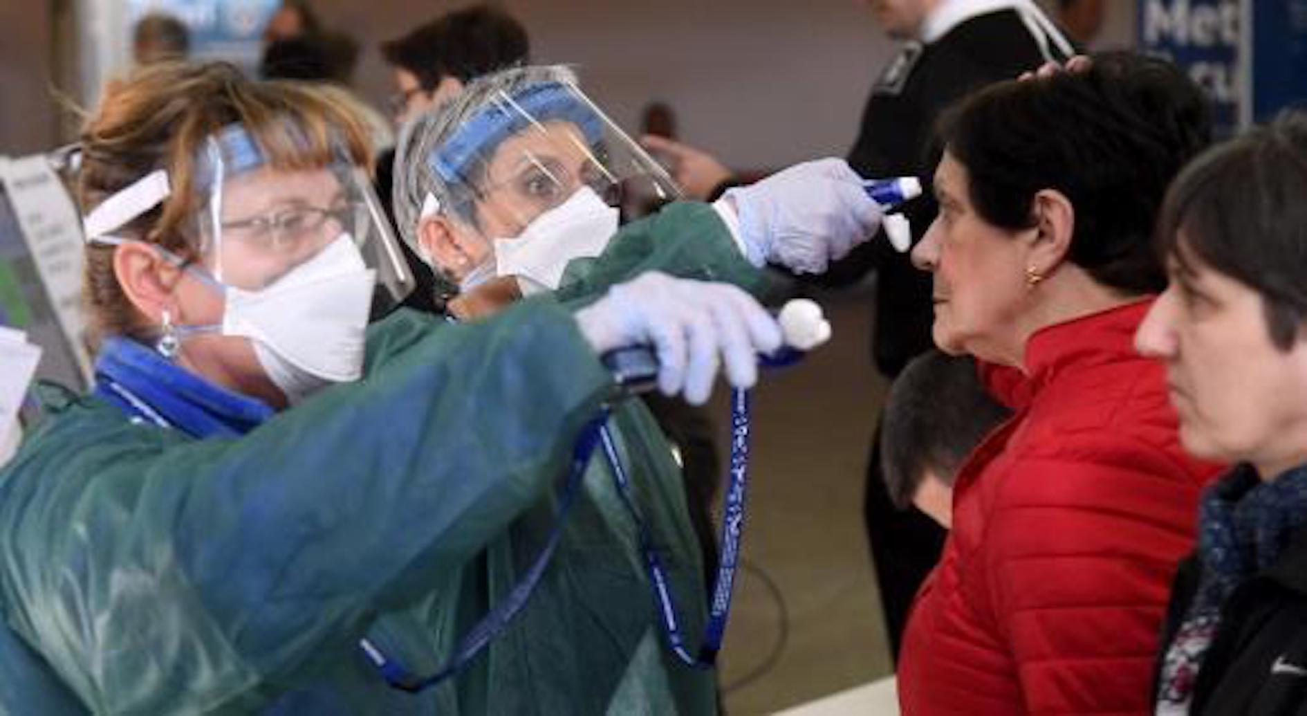 Testing for coronavirus fever.