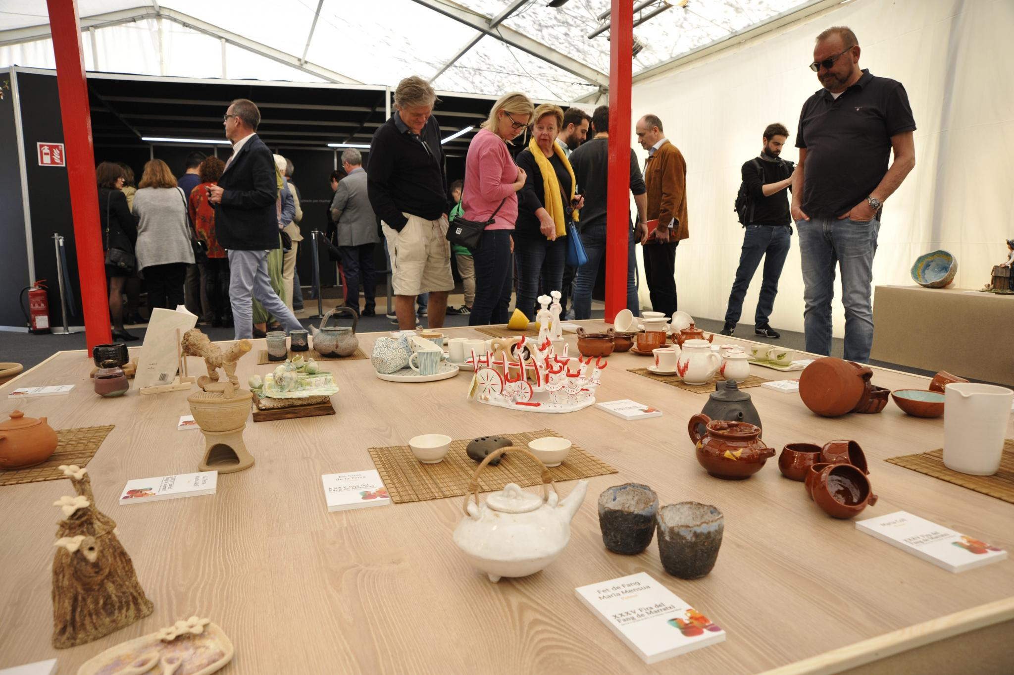 Fira del Fang, ceramics fair at Marratxi