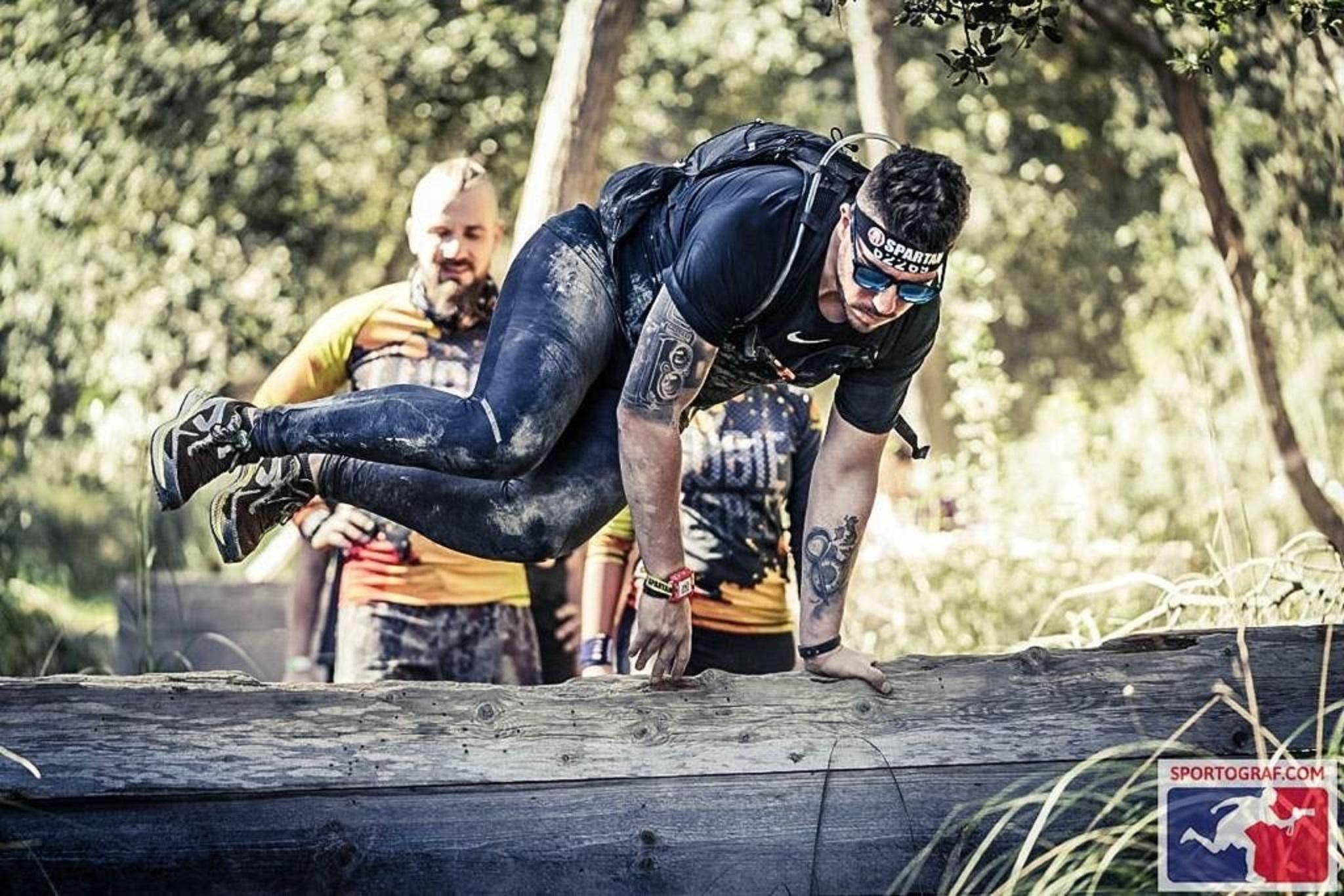 Competitor in the Spartan Race
