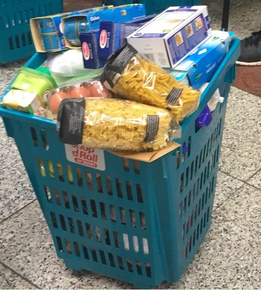 Supermarket basket, El Corte Inglés