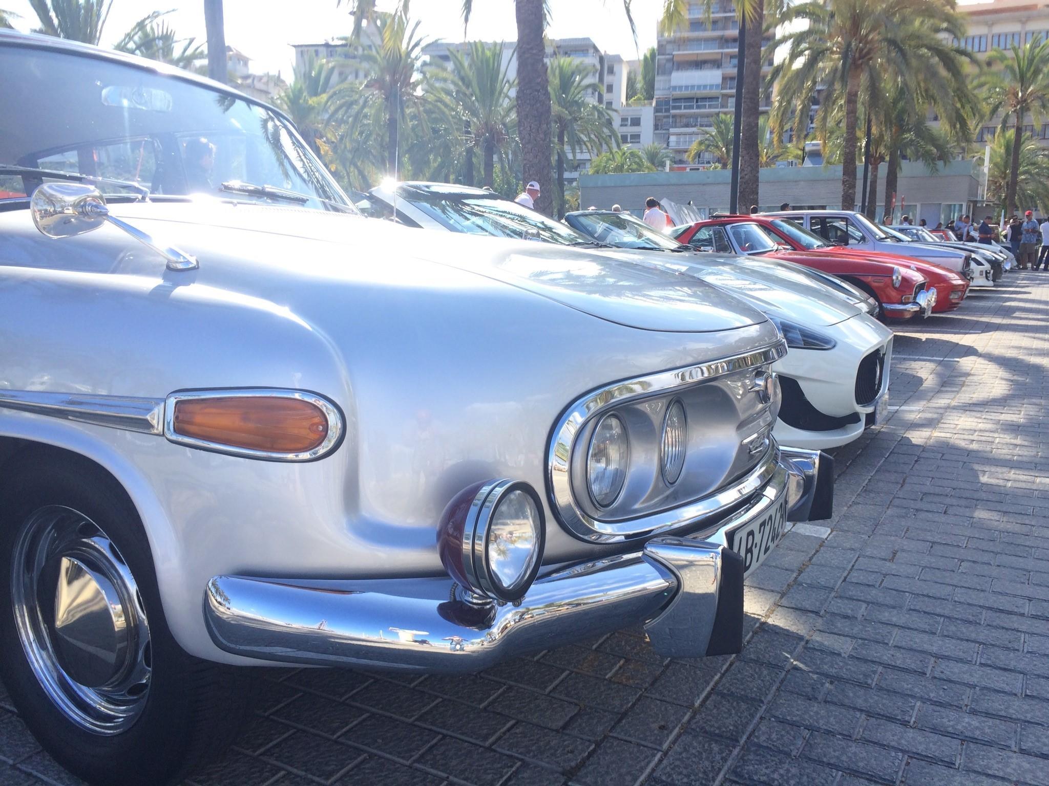 Tatra 603 made from 1953 to 1975.