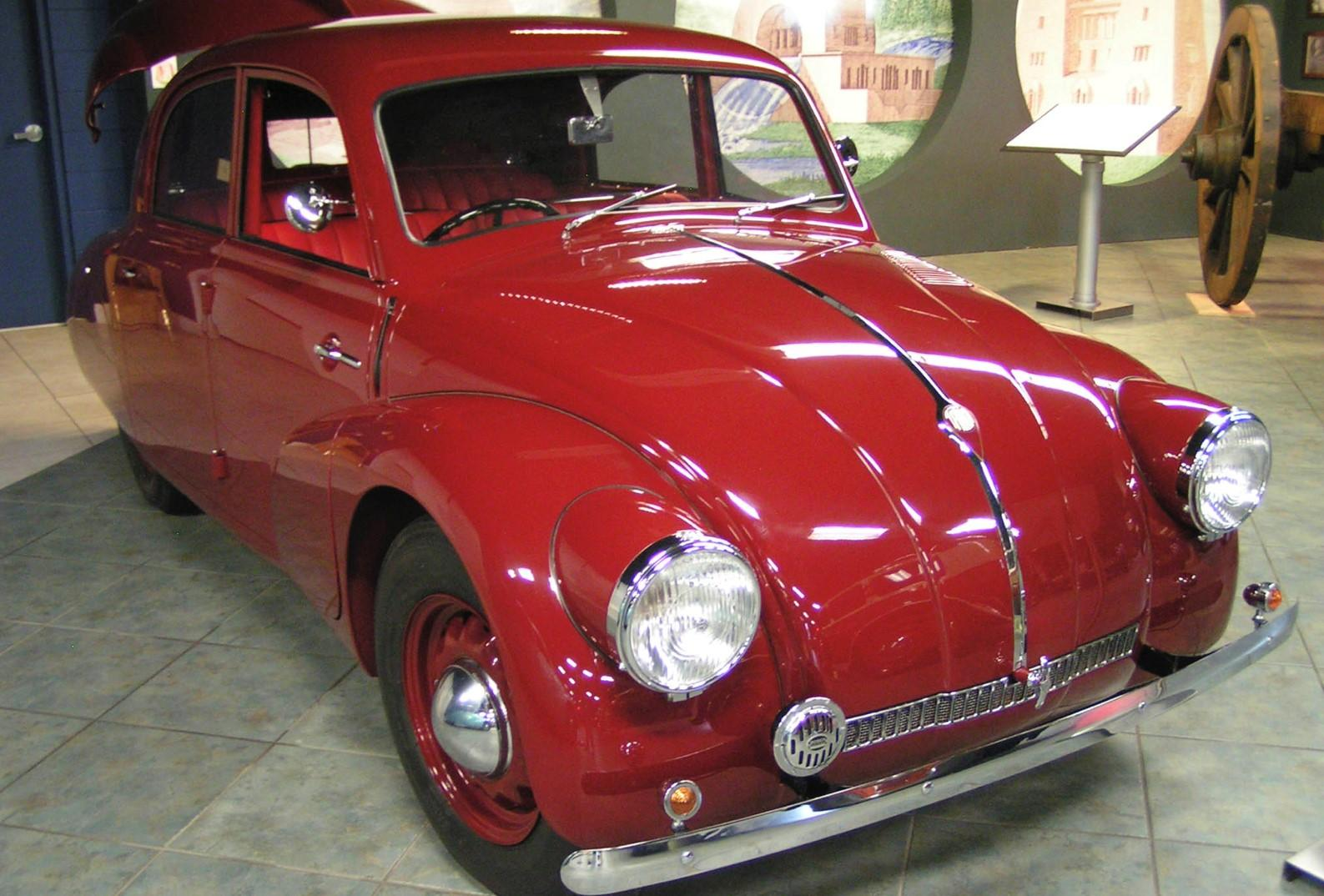 Tatra 97, the model which 'inspired' Ferdinand Porsche when designing the Beetle.