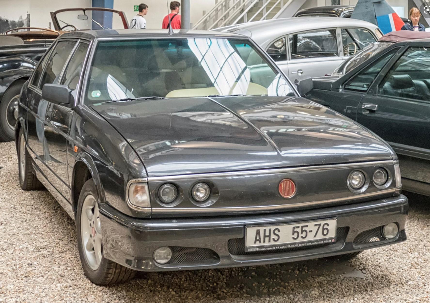 1996-1999 Tatra 700 the last saloon model they made, with 4.4 V8 power.