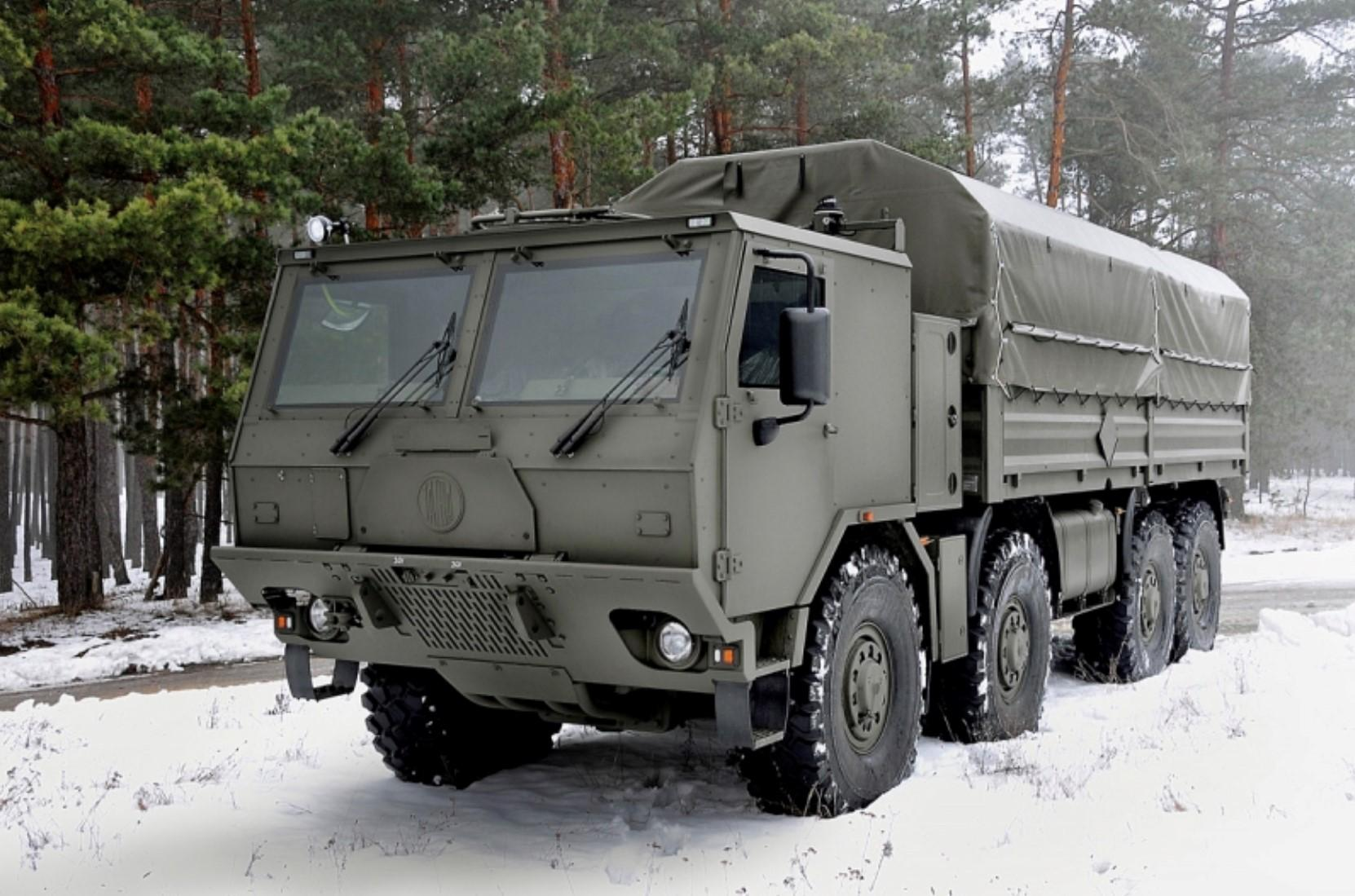 Today Tatra makes some serious trucks, you don't mess with one of these.