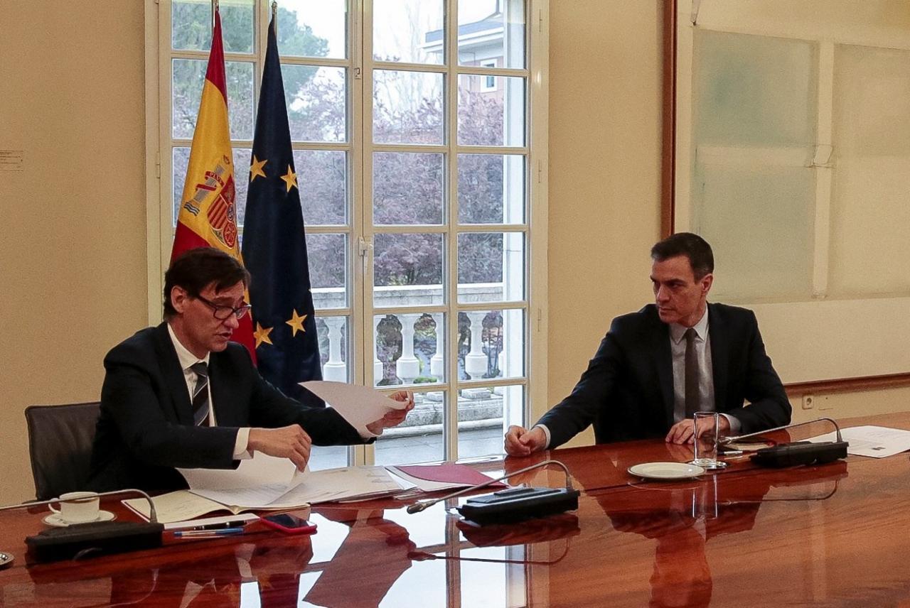 Spain warns 'worst is yet to come' as coronavirus deaths surpass 1300