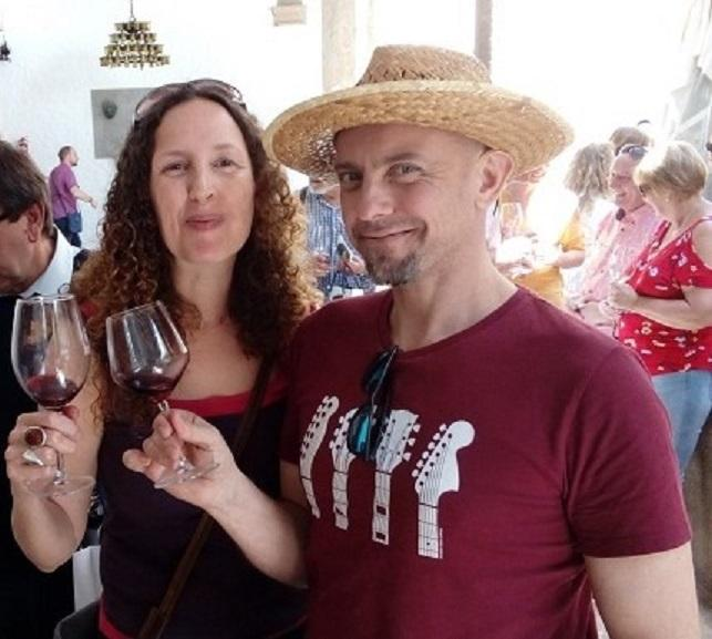 Lara and Ivan from Wine Industry