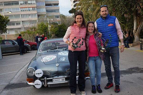 Regularity winners were Nadja Rothkirch & Juana M. Font in a VW Karman Ghia