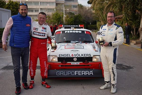 The Legends class won by Jim Whelan & Allan Harryman in their Metro 6R4