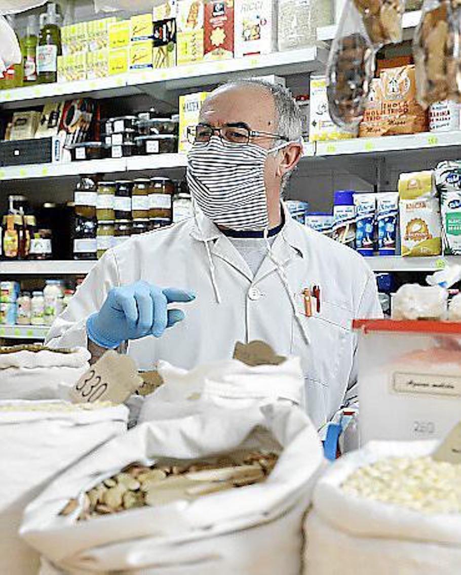 Toni Sastre, Trader, Mercat de l'Olivar
