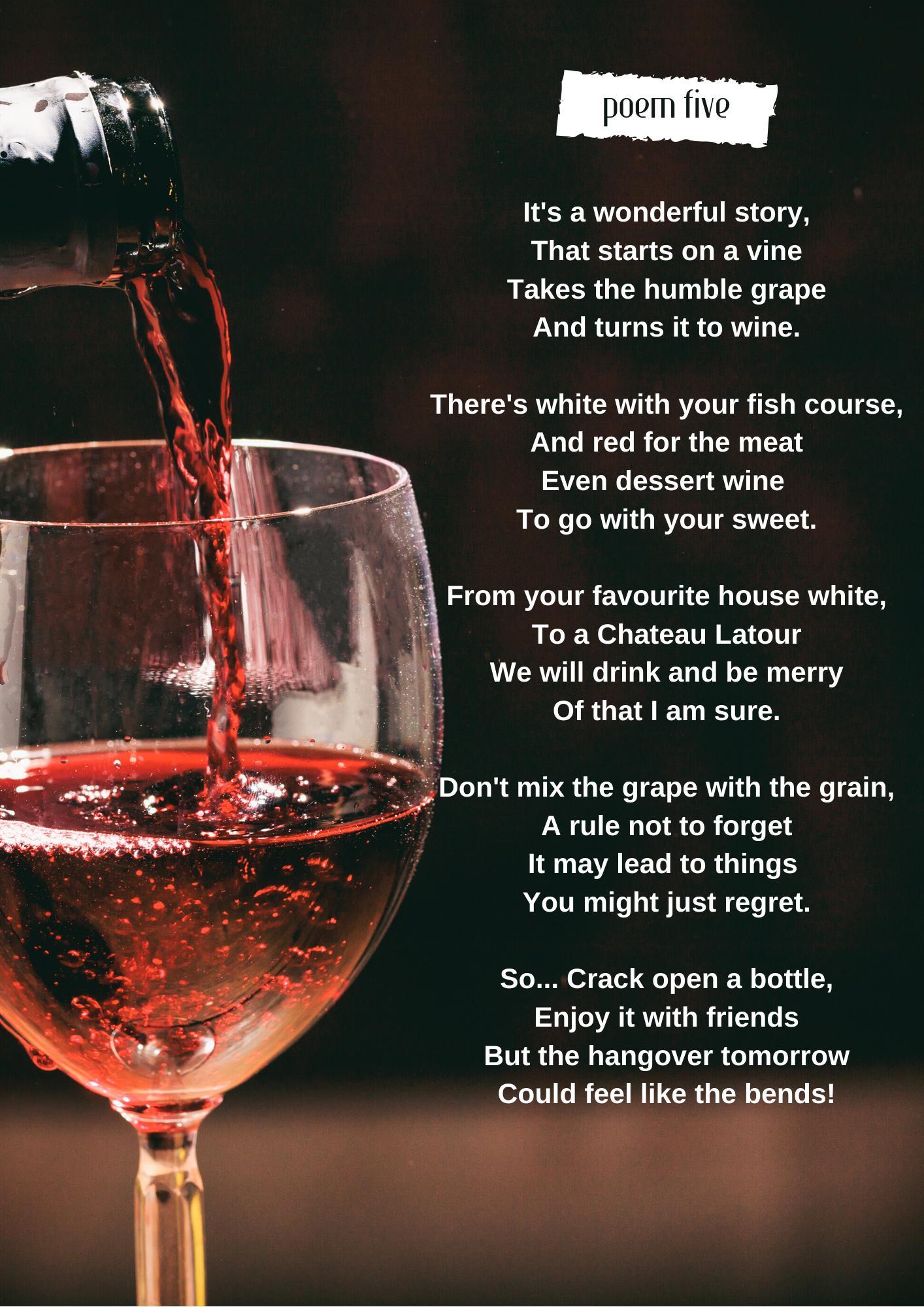 The winning poem by Carol-Anne Wilson