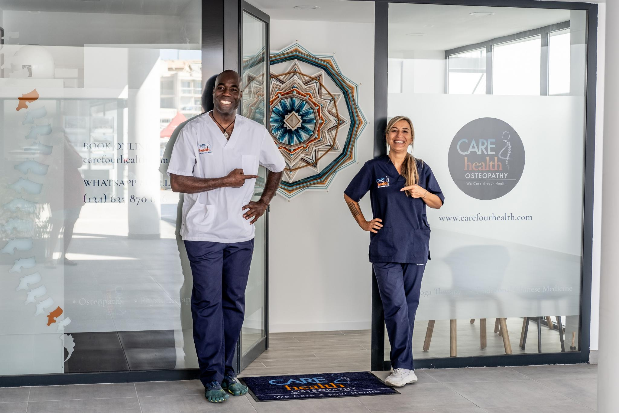 Joe and Amanda from Care 4 Health