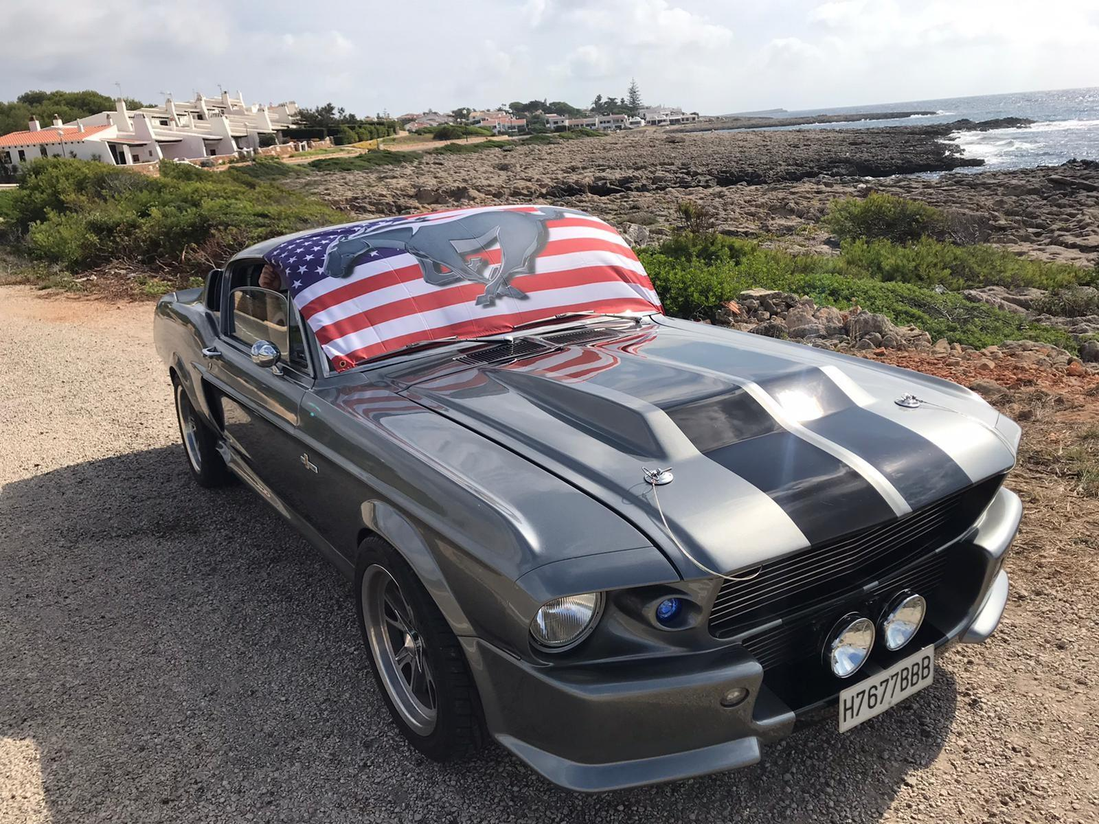 No guessing where his loyalties lie, Eleanor Mustang in Majorca