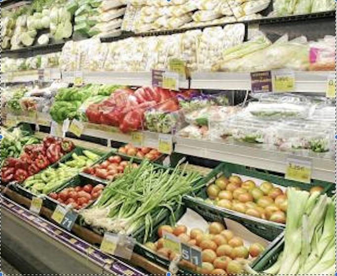 Consumers buying more fresh vegetables during Covid-19 lockdown.