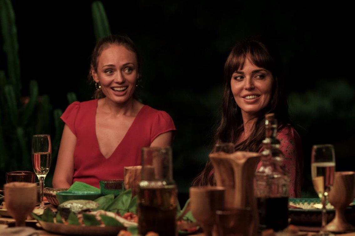 Laura Haddock (Zoe Collins) & Marta Milans (Kika Calafat)