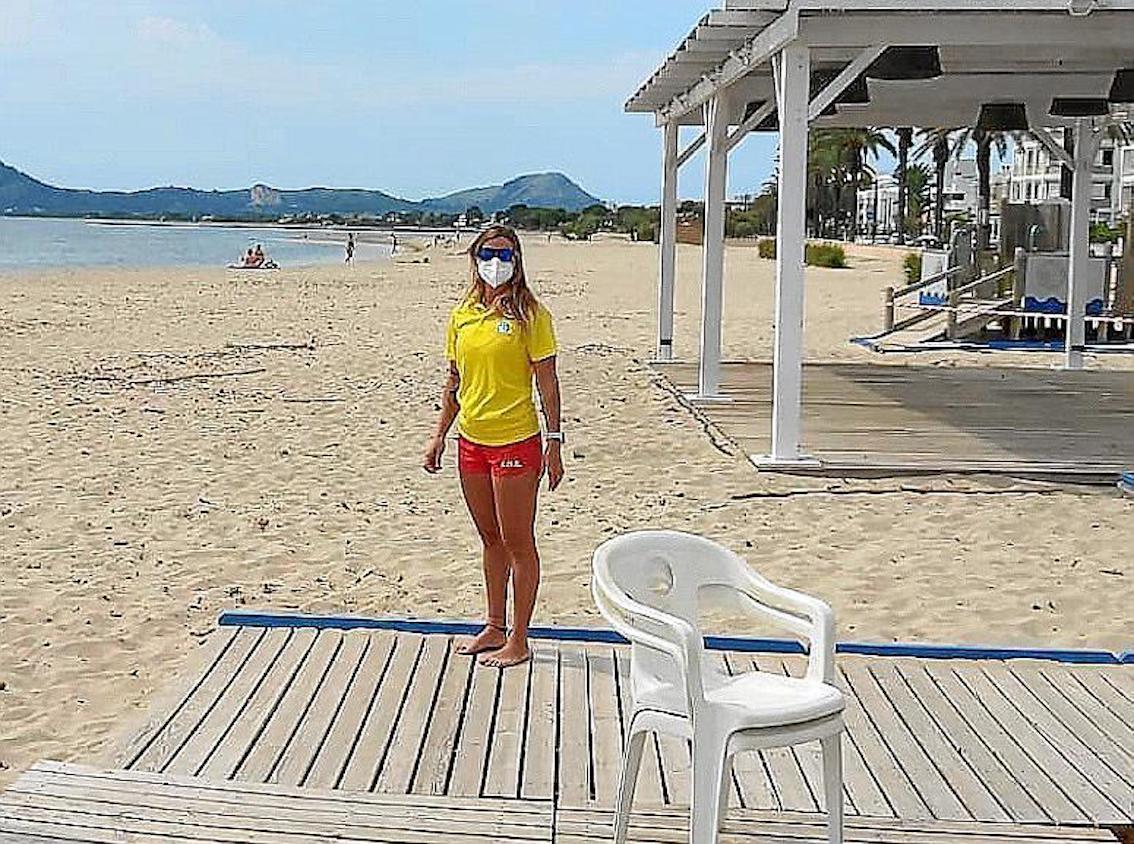 Beaches open in Mallorca